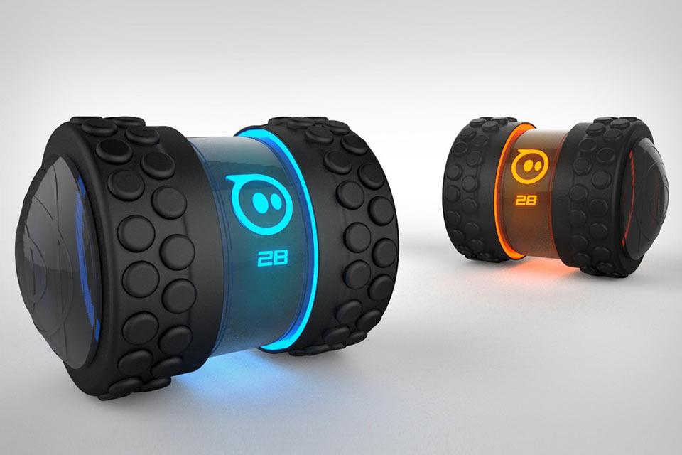 Управляемая смартфоном скоростная игрушка-робот Sphero 2B