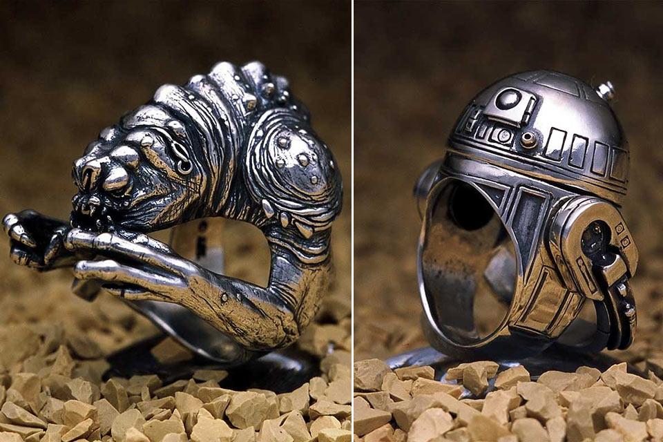 Кольца для фанатов вселенной «Звездных войн»