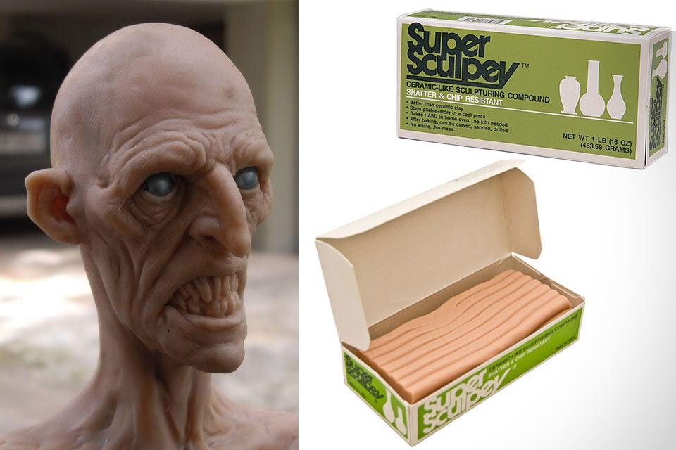 Полимерная глина Super Sculpey для создания сверхдетальных скульптурок