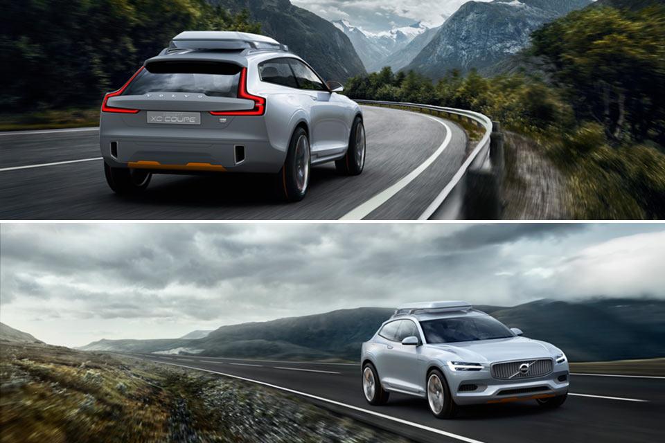 Концепт-кар Volvo XC Coupe