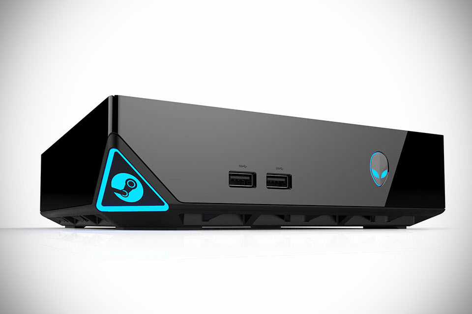 Игровой ПК Alienware Steam Machine в формате консоли