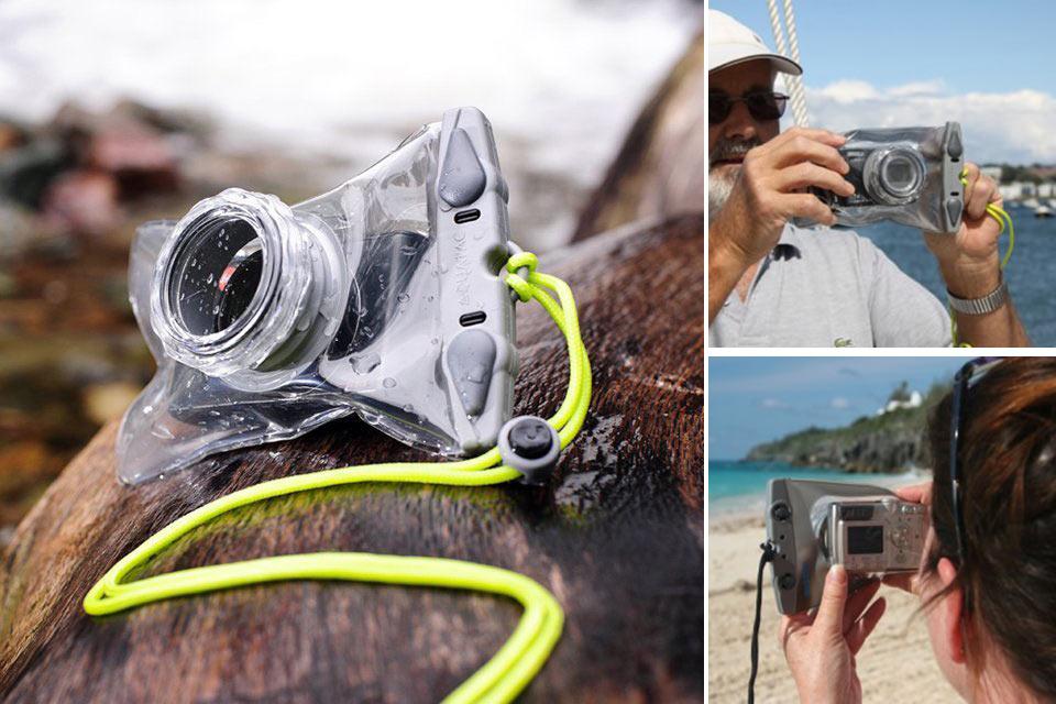 Универсальный водонепроницаемый чехол Aquapac Mini для фотомыльниц