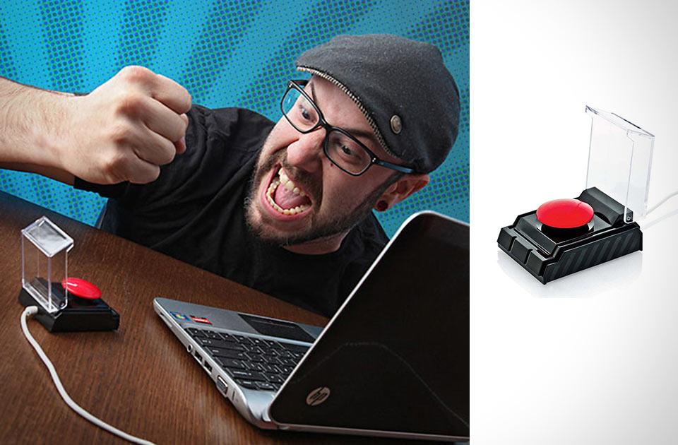 Кнопка Big Red Button для снятия стресса