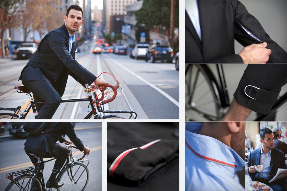 Пиджак и брюки Parker Dusseau для езды на велосипеде