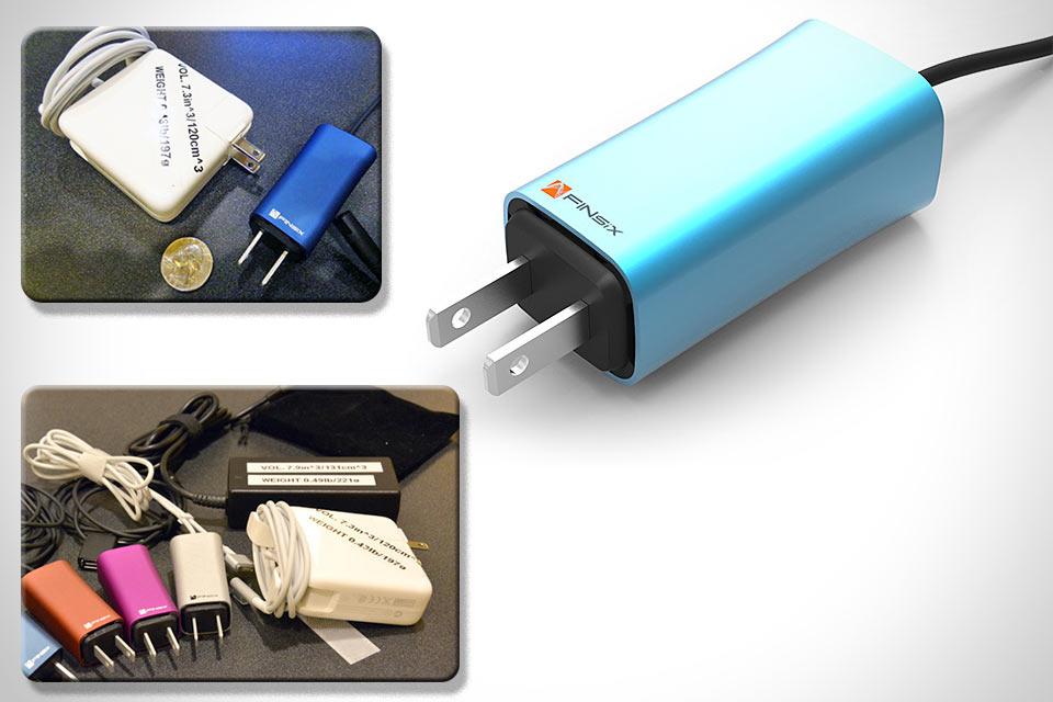 Миниатюрный блок питания FINsix для ноутбуков
