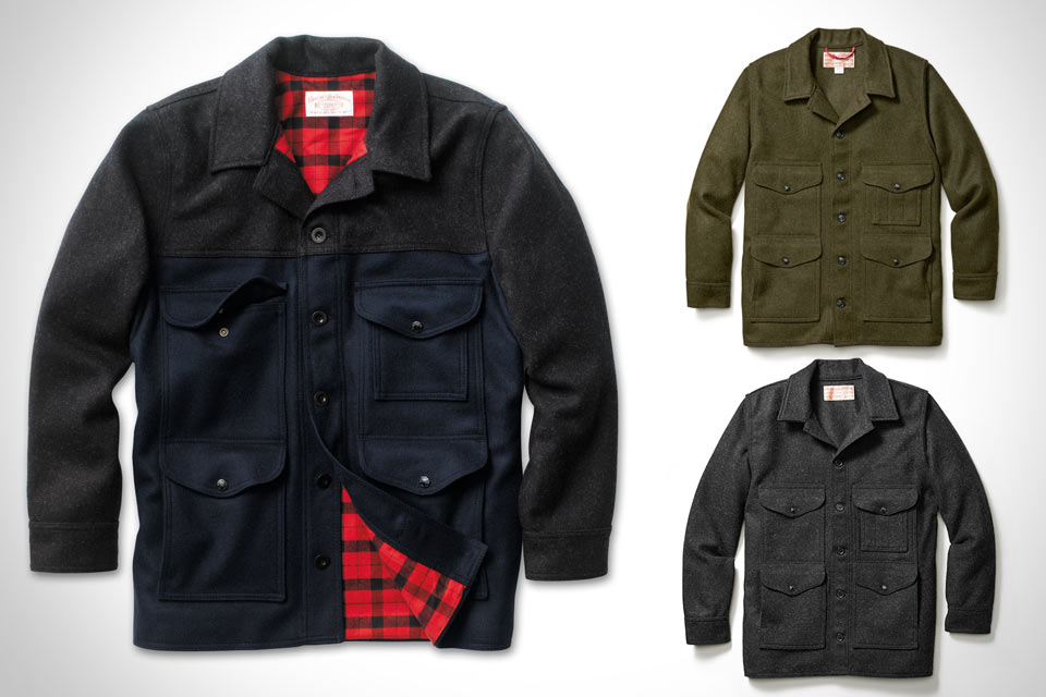 Прочная куртка Filson Mackinaw Cruiser