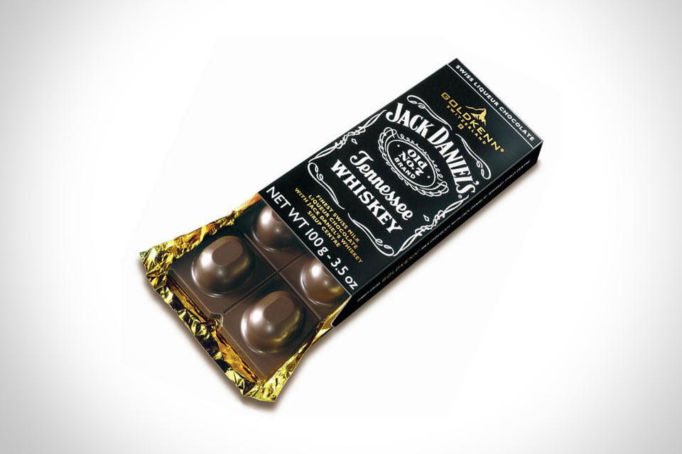 Шоколад с виски Jack Daniels Liqueur Bar