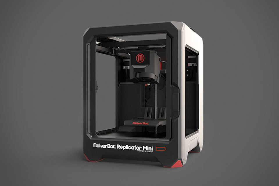 Бюджетный 3D-принтер MakerBot Replicator Mini