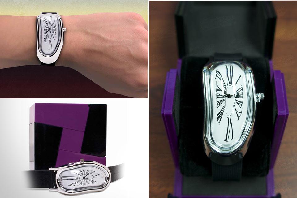 Плавящиеся наручные часы Melting Watch