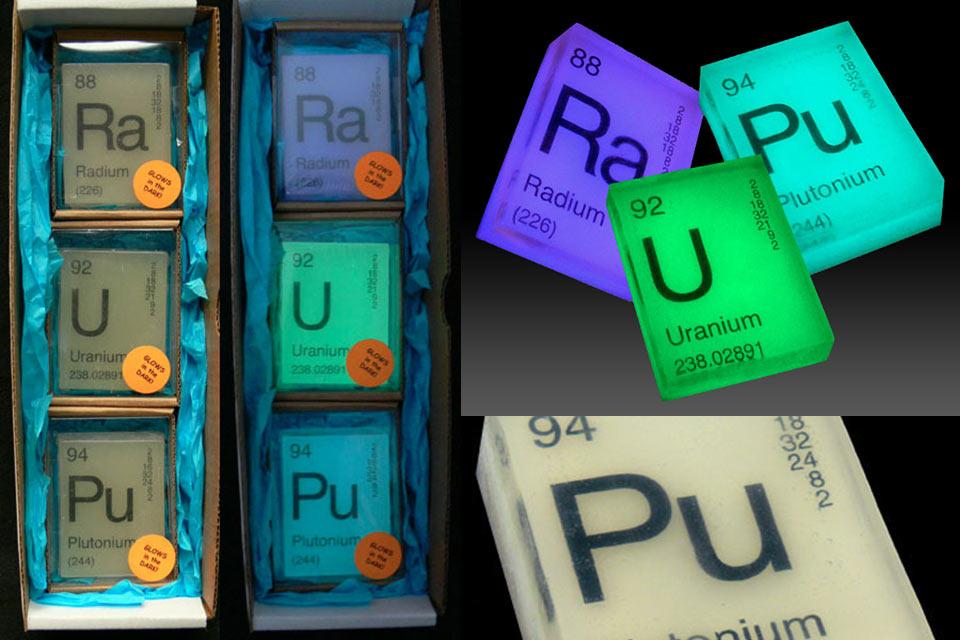 Светящееся «радиоактивное» мыло Nuclear Glow