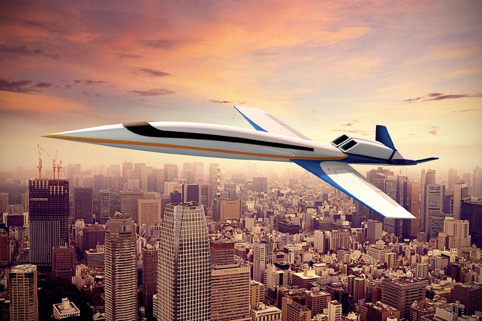 Сверхзвуковой самолет бизнес-класса Spike S-512
