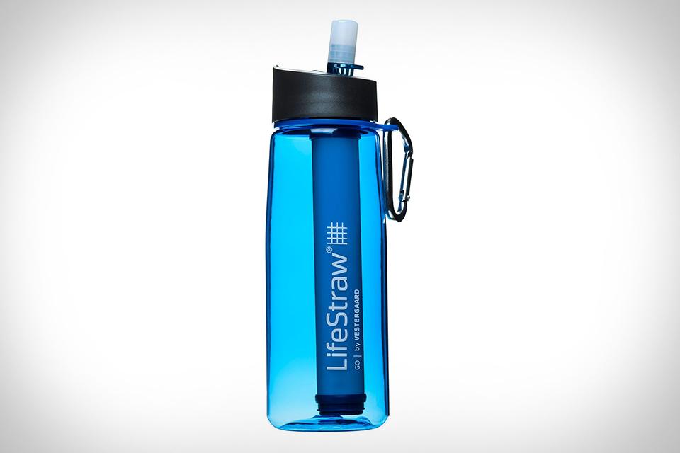 Бутыль для воды со встроенным фильтром Lifestraw Go