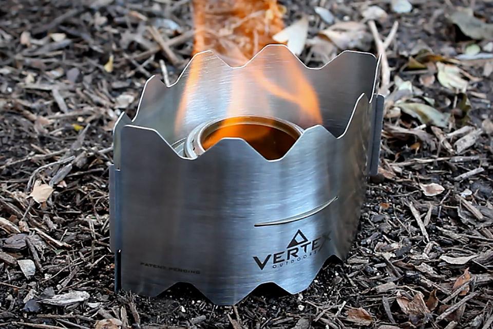 Компактная горелка Vertex Ultralight