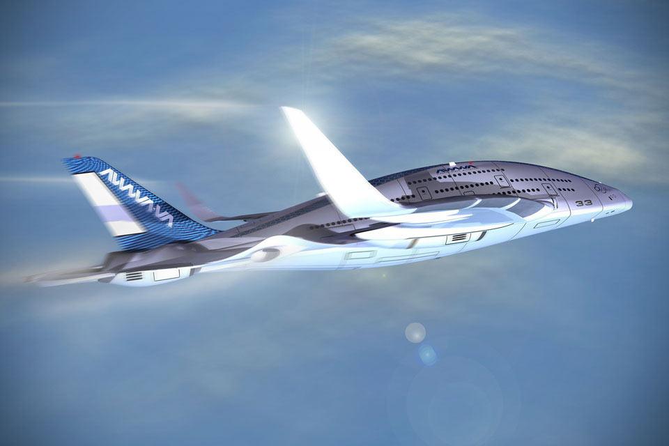 Пассажирский самолет-гигант AWWA Sky Whale