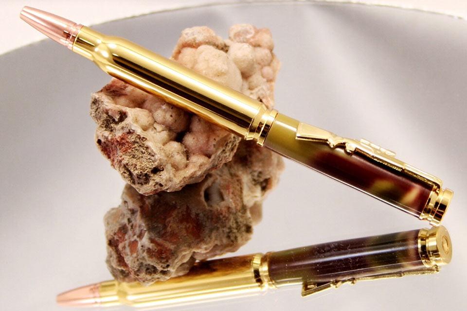Выполненные вручную шариковые ручки Bullet Pen из автоматных гильз