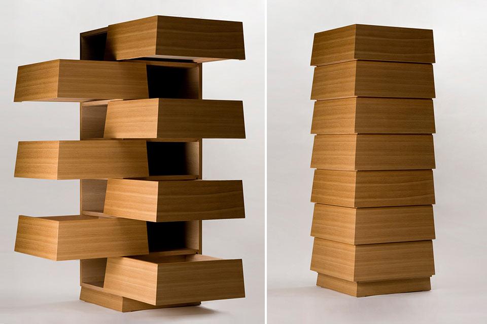 Угловой комод Cartesia Seven Drawers для эффективного использования пространства