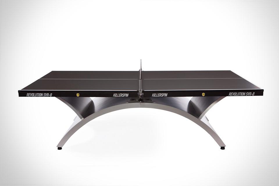 Профессиональный теннисный стол Killerspin Revolution SVR-B с весом под 190 кг