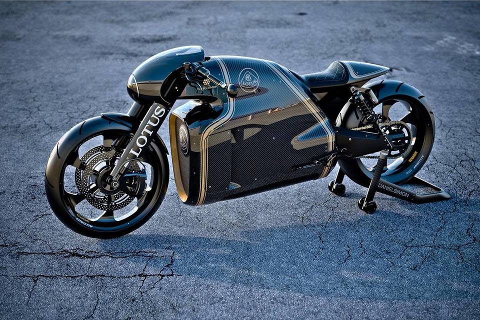Карбоново-титановый супербайк Lotus C-01