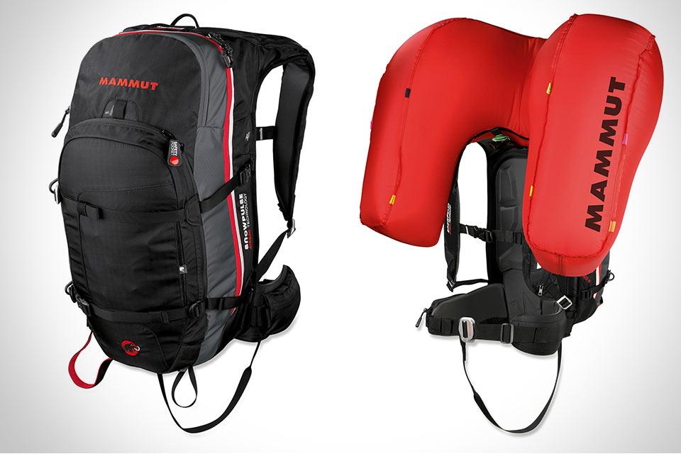 Спасательный рюкзак Mammut Avalanche Airbag для лыжников и сноубордистов