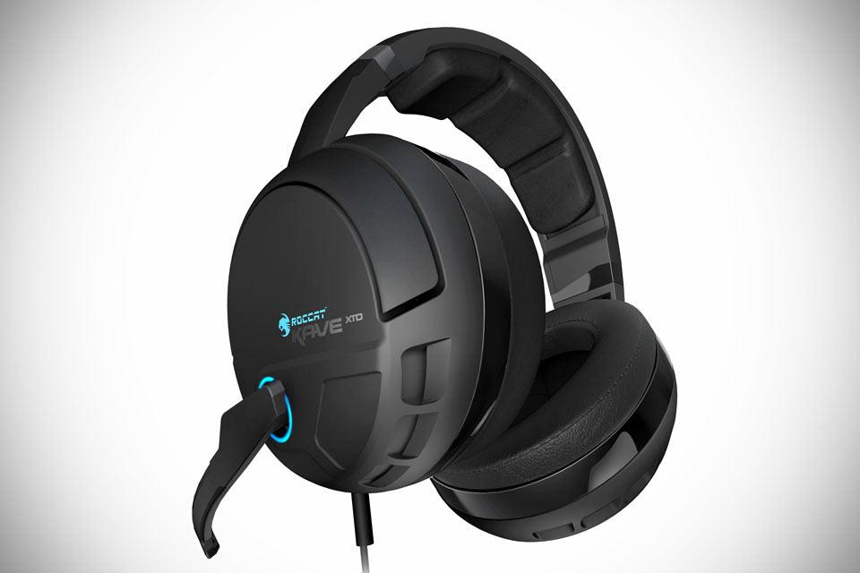 Игровые 3D-наушники ROCCAT Kave XTD 5.1 со встроенной звуковой картой