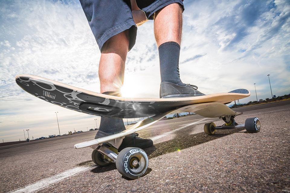 Скейтборд SoulArc с композитной рессорой