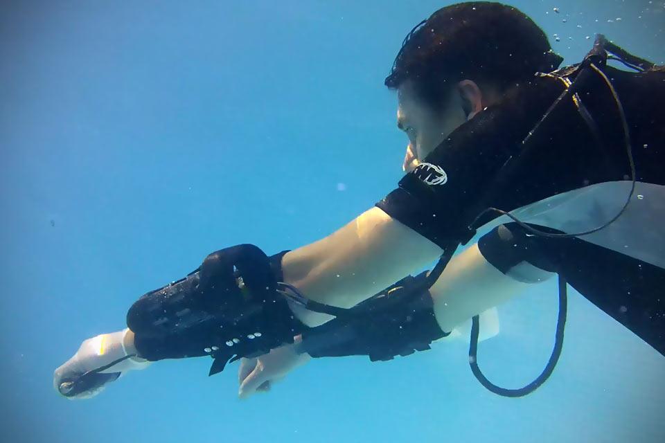 Индивидуальная турбина x2 для подводного плавания
