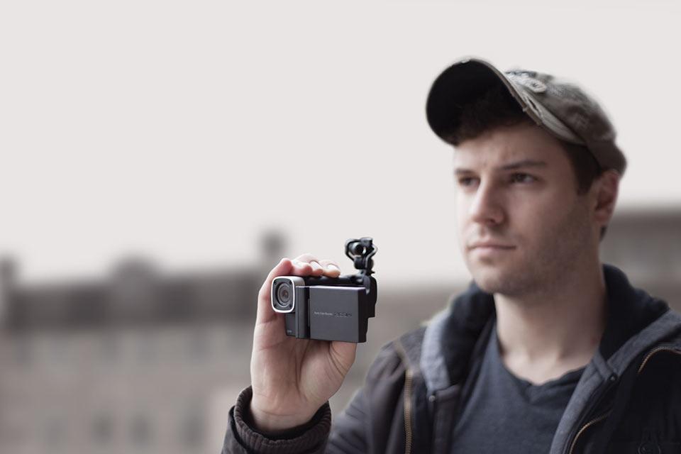 Видеокамера для музыкантов Zoom Q4