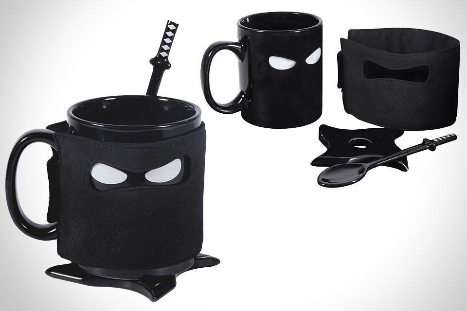 Ниндзя-кружка Ceramic Ninja Mug