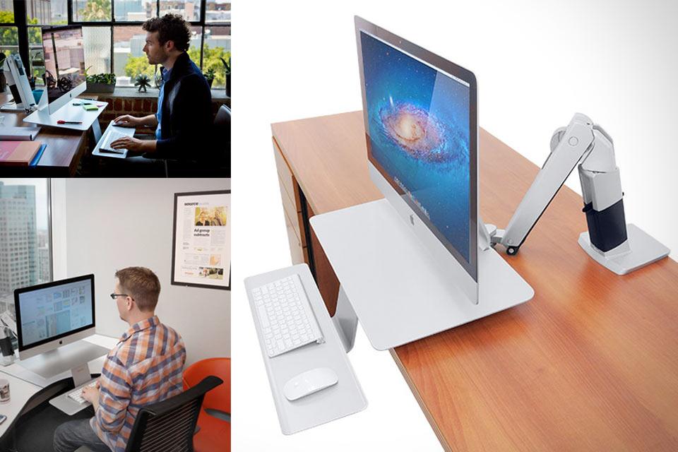 Эргономичный кронштейн Workfit I Sit-Stand Workstation для организации рабочего места
