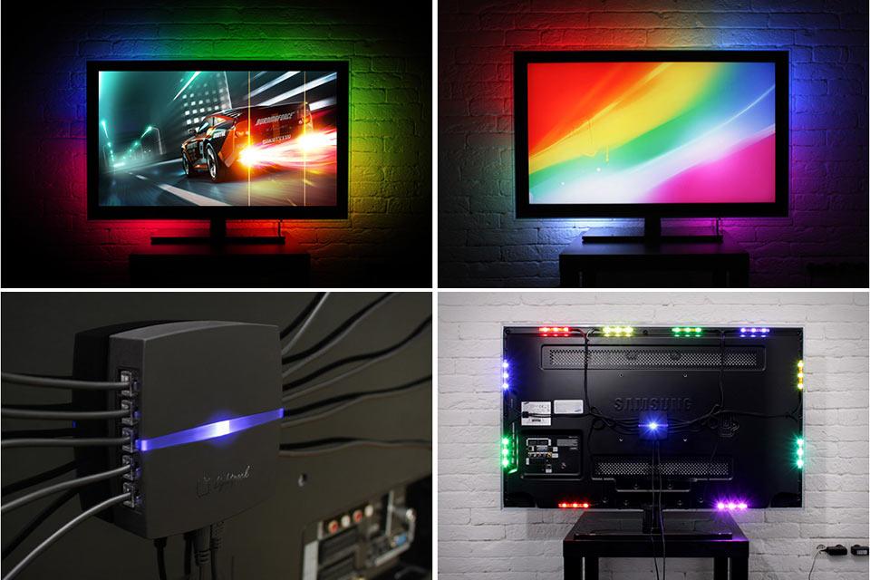 Система краевой подсветки Lightpack для ЖК-монитора или телевизора