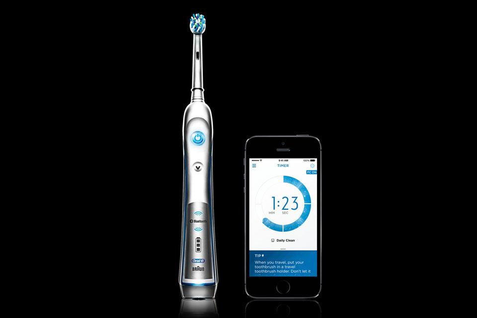 Зубная щетка Oral-B SmartSeries с поддержкой Bluetooth