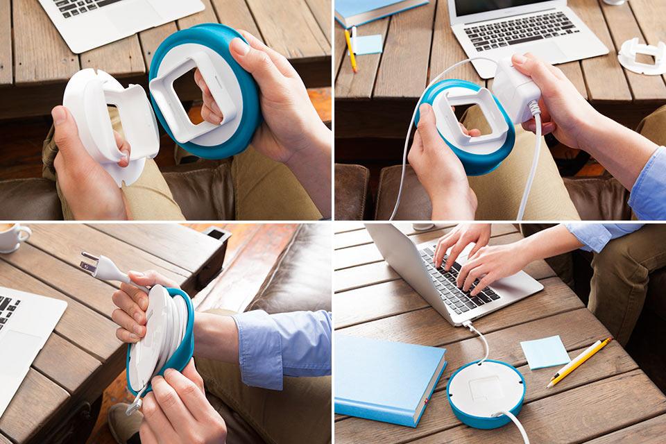 Органайзер проводов PowerCurl для блока питания MacBook