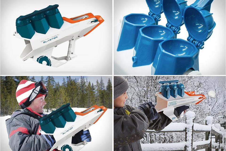 Стреляющее снежками ружье Arctic Force Snowball Blaster