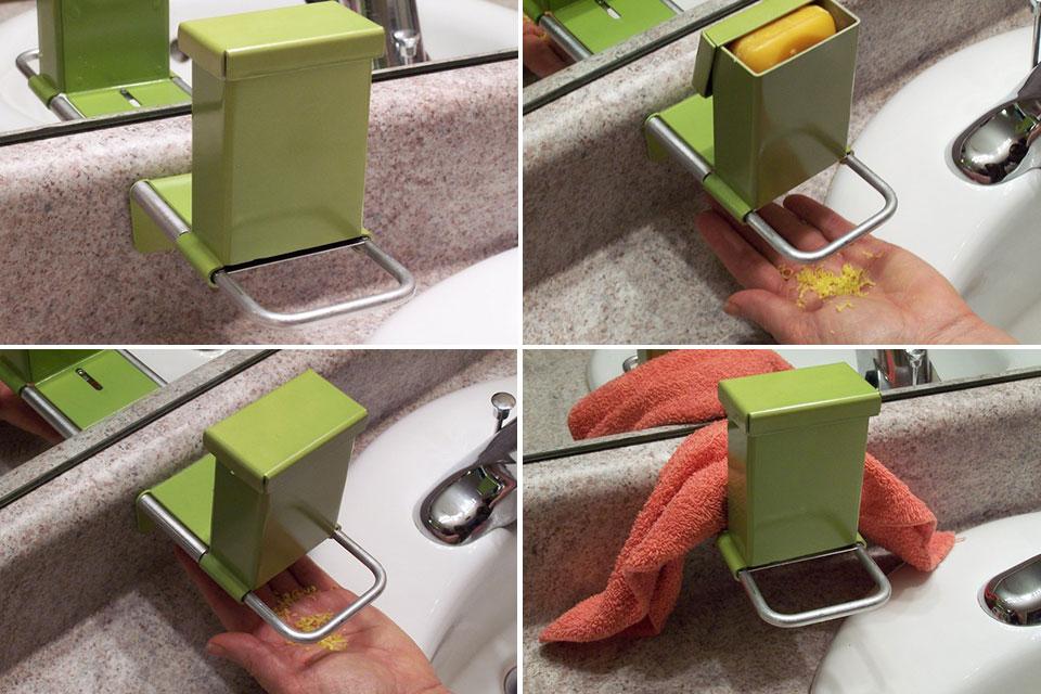 Дозатор Super Shaver Soap Saver S4 для брускового мыла