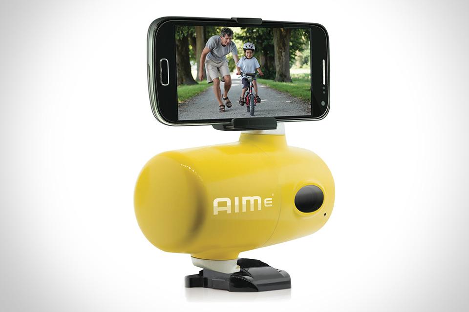 Роботизированный видеооператор Jigabot AIMe для смартфонов и камер
