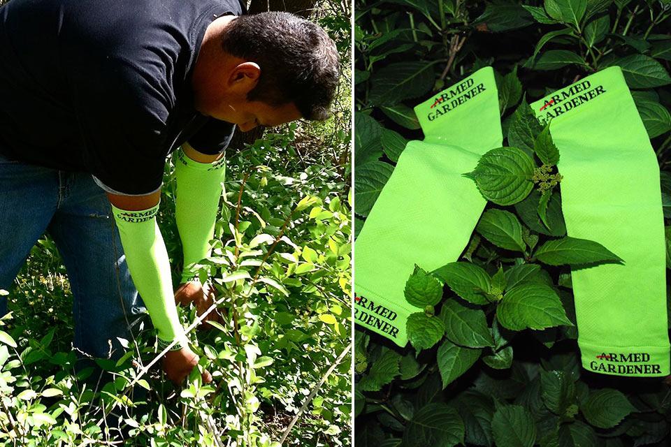 Защитные налокотники Armed Gardener для садовода-затейника