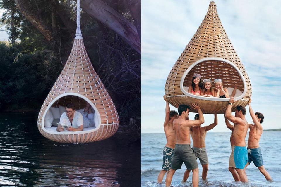 Висячая палатка Dedon Nestrest для медитаций и отдыха