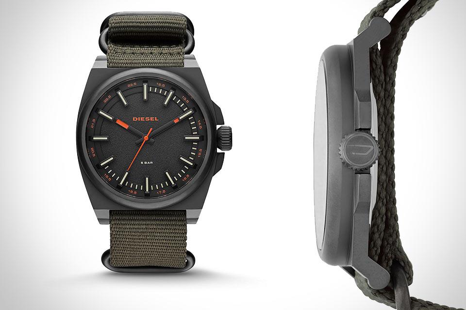 Часы Diesel SC2 военного образца
