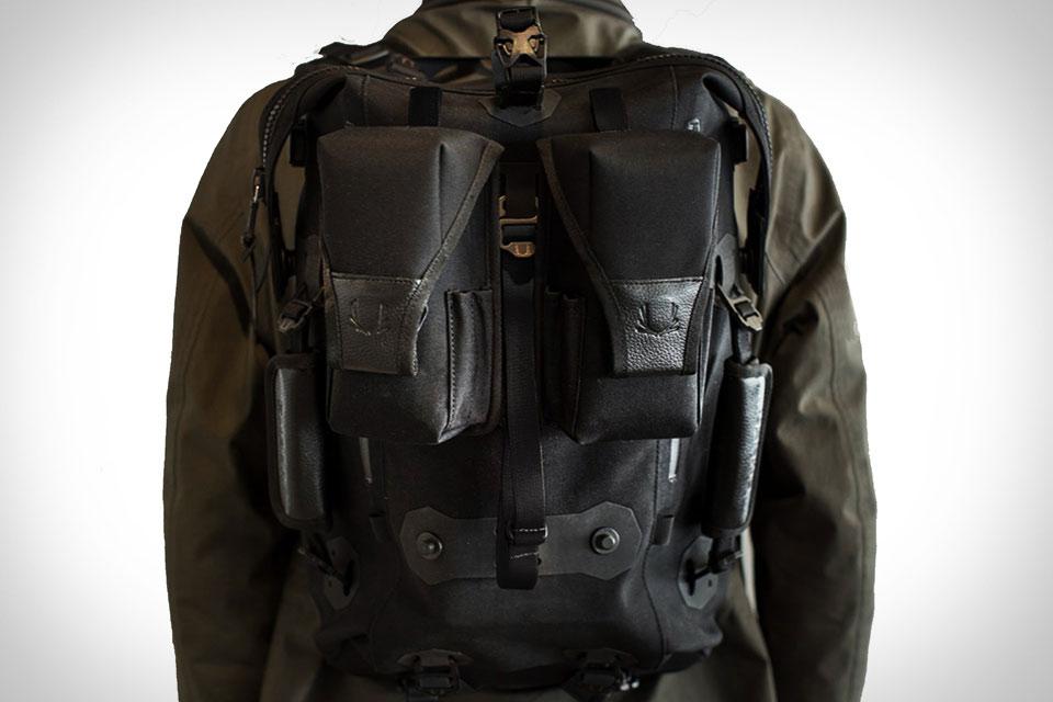 Модульный рюкзак Ember Backpack из кожи и нейлона