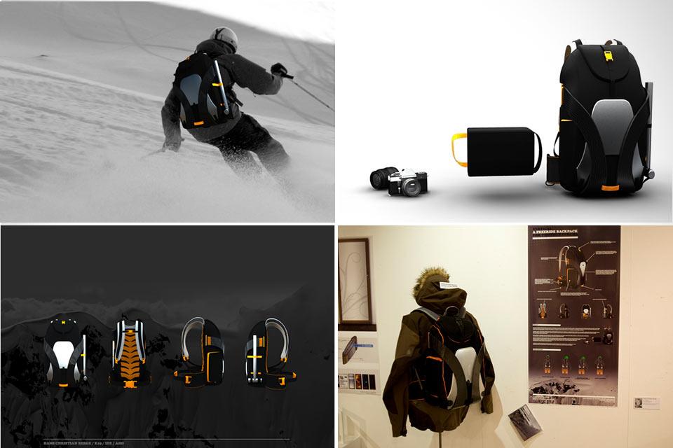 Рюкзак Freeride для лыжников-фотографов