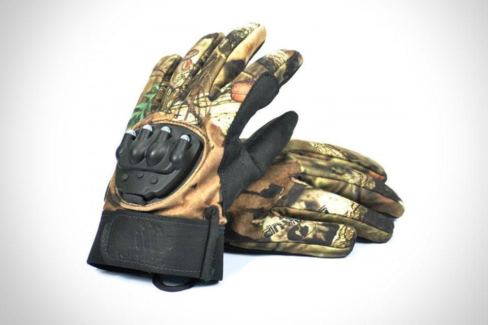 Тактические перчатки Hunting Light Gloves со встроенным фонариком