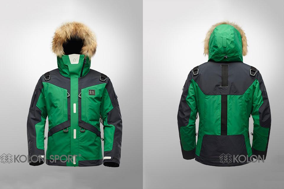 Куртка Kolon Sport Life Tech для выживания в экстремальных условиях