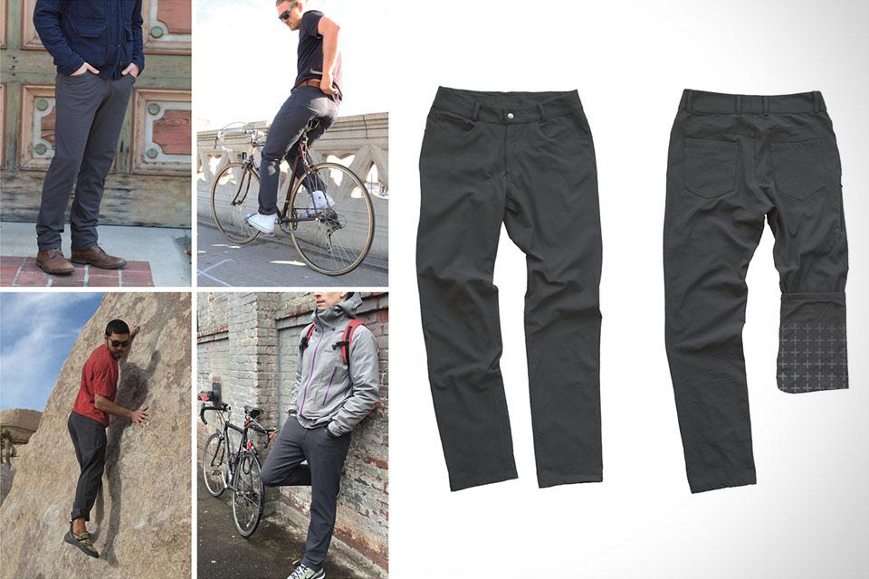 Удобные и не пачкающиеся брюки Lunis Apollo для путешествий