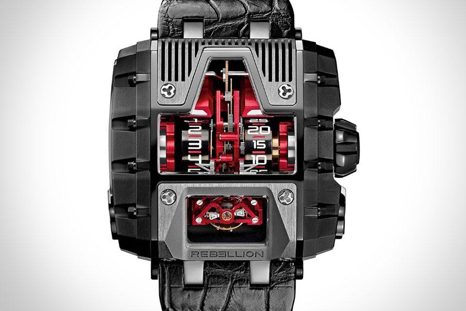 Механические часы Rebellion T-1000 Gotham Watch с запасом хода на 1000 часов
