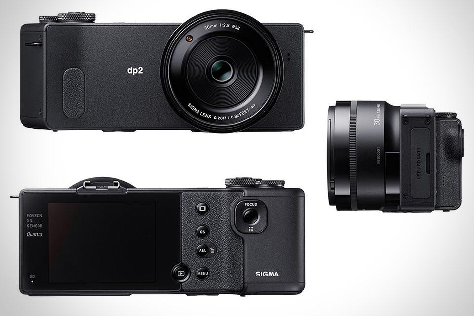 Компактная фотокамера Sigma DP2 Quattro с необычной формой и хитрым сенсором