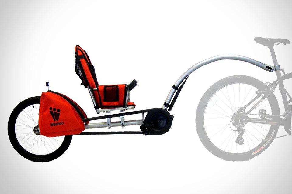 Велотрейлер Weehoo iGo Bicycle Trailer для детей