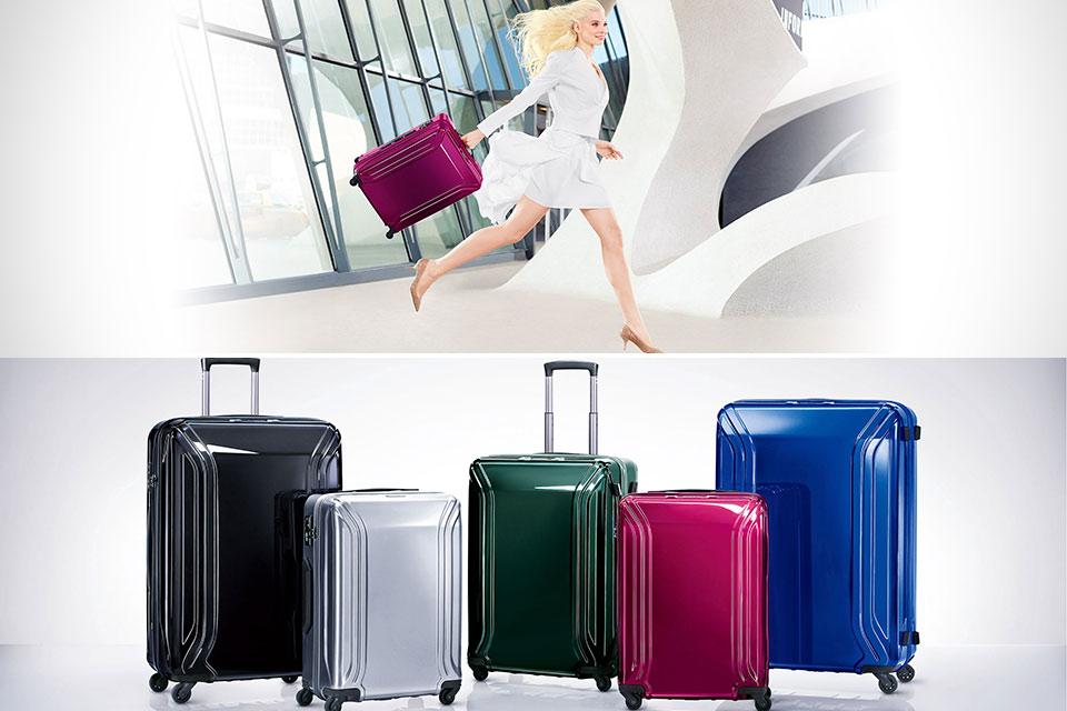 Сверхлегкие чемоданы Zero Halliburton Air II из поликарбоната