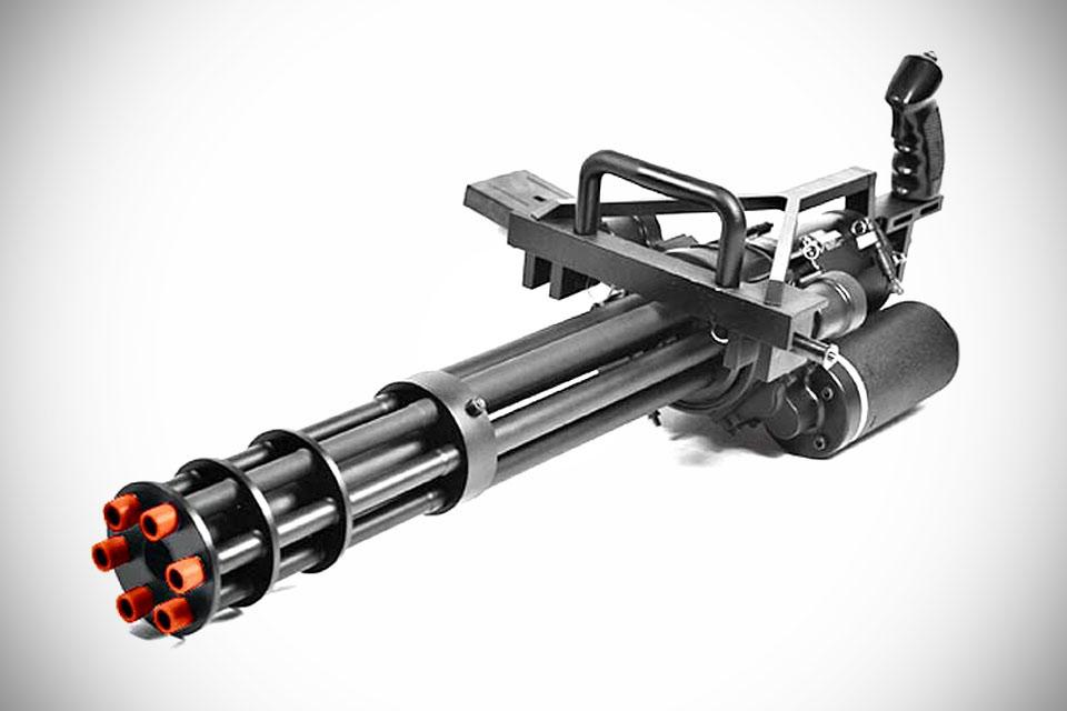 Автоматический 6-ствольный пулемет Echo1 M134 MiniGun для страйкбола