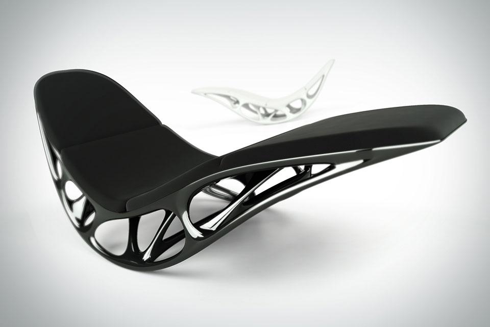 Кресло Morphogenesis с дизайном на основе природных микроструктур
