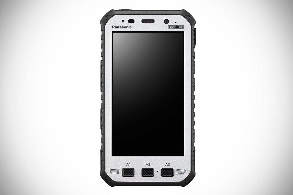 Экстремальные 5-дюймовые планшеты Panasonic Toughpad FZ